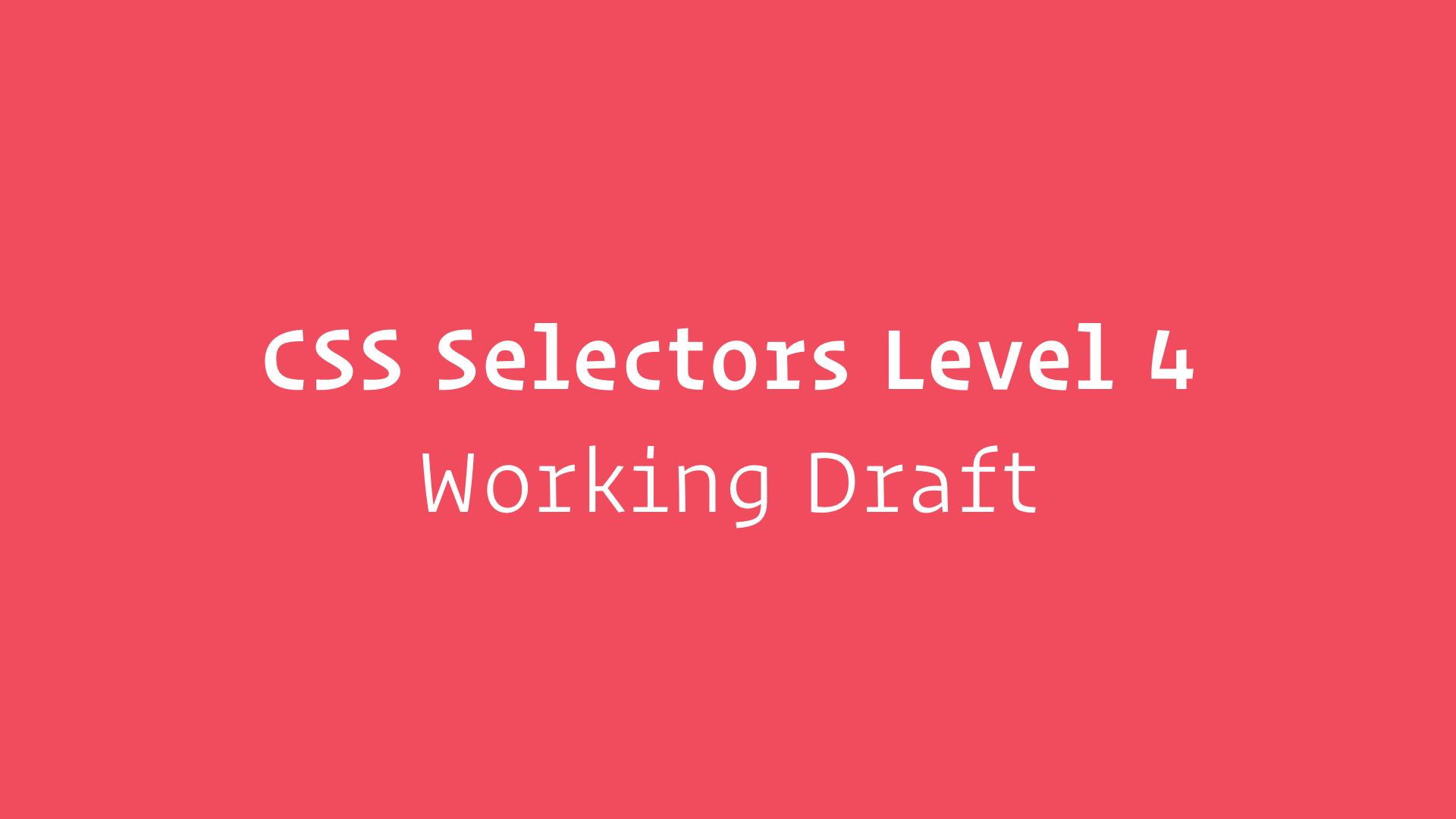 CSS4 4