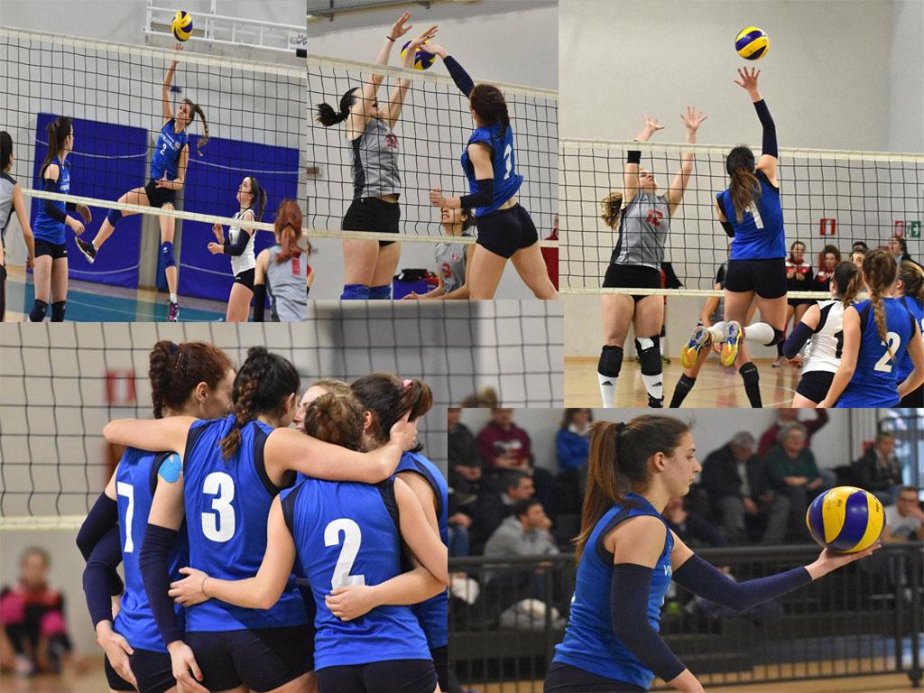 1^ Divisione: Vivi Blu Volley al fotofinish