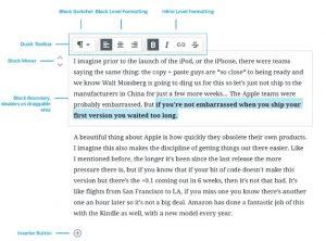 Scrivere con WordPress Gutenberg è facile.