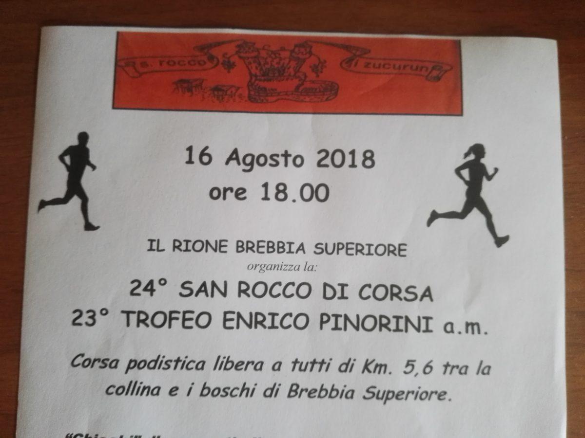 Metà agosto … San Rocco chiama !