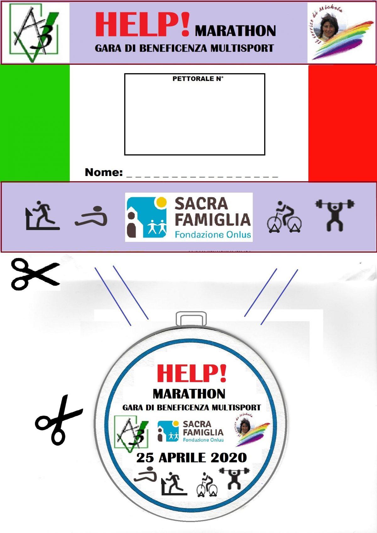 Help! Marathon … una mano alla 'Sacra Famiglia'