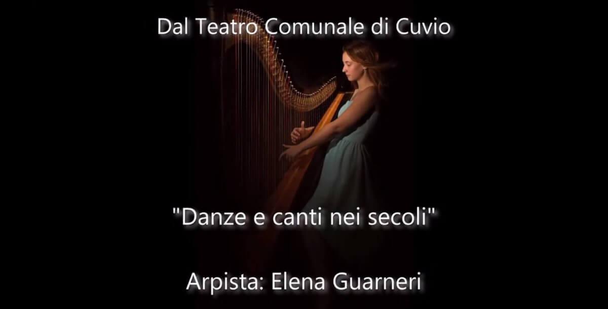 Danze e canti nei secoli attraverso l'arpa